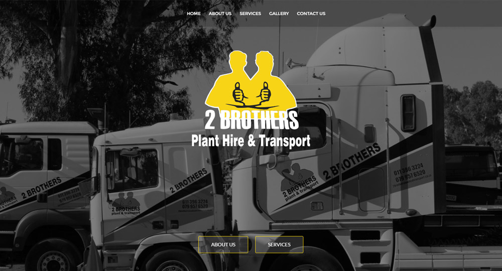 2 Brothers Plant hire & Transport