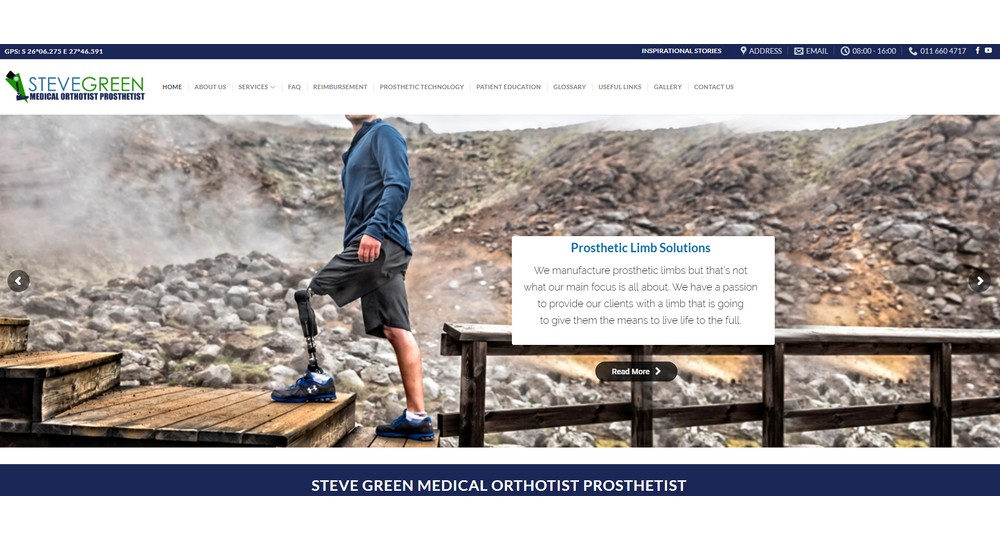Steve Green Medical Orthotist Prosthetist